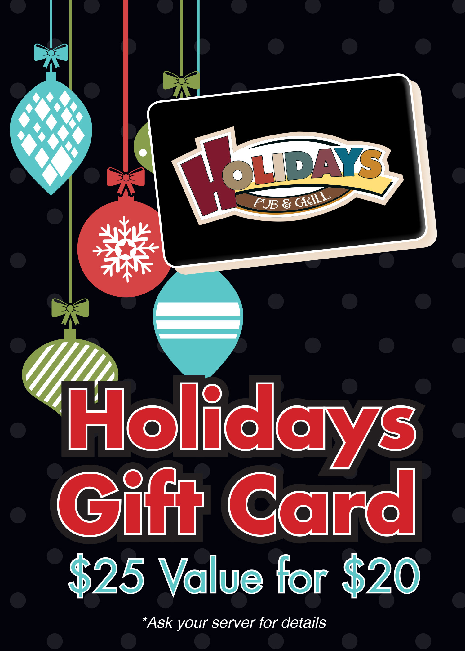 Holidays Gift Cards